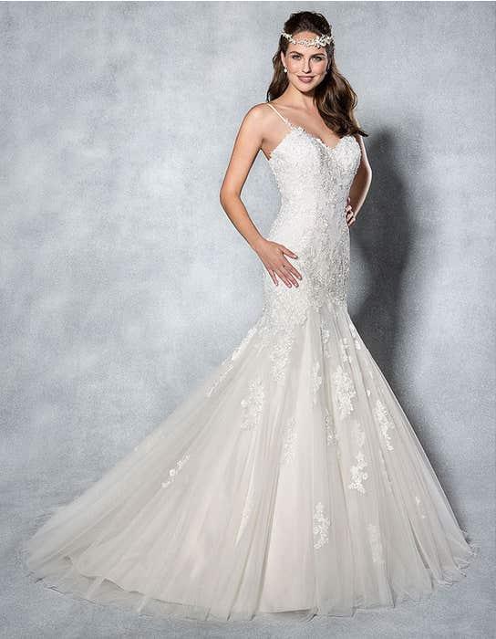 Mischa fishtail wedding dress front Viva Bride