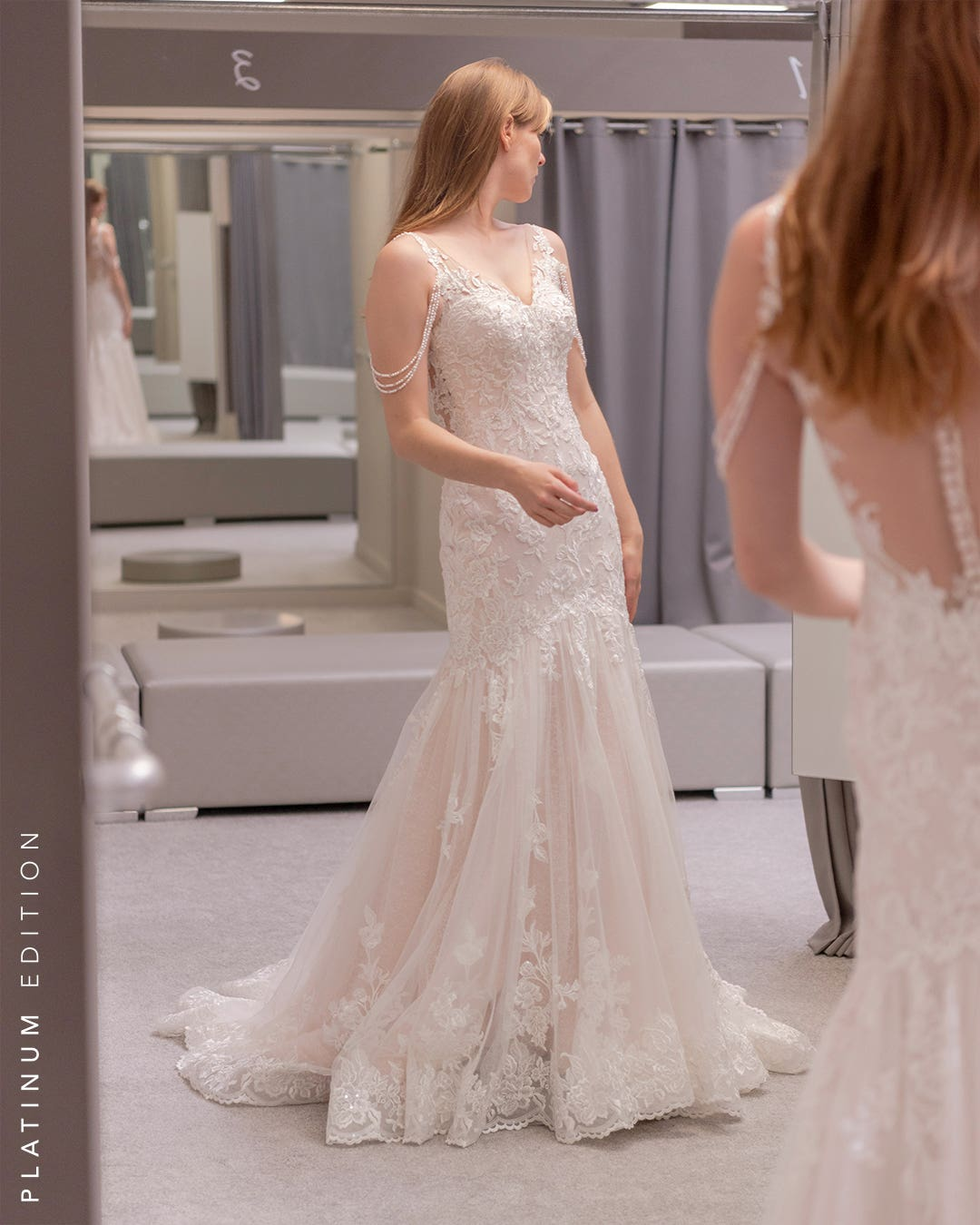 Alabama - une robe sirène scintillant