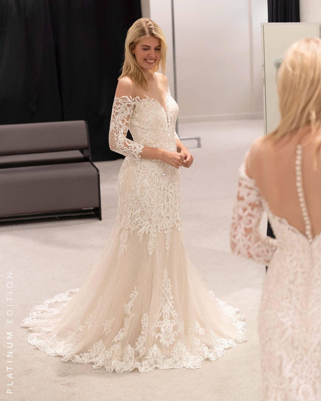Jackson - une robe sirène exclusive