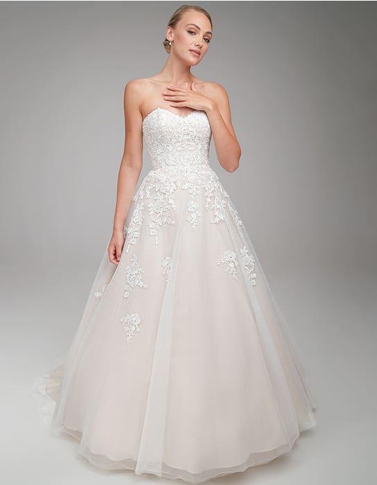 Nancy Aline wedding dress front Anna Sorrano