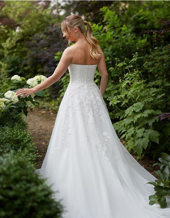 Nancy Aline wedding dress front Anna Sorrano Edit