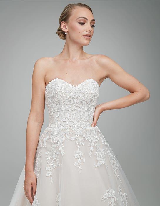 Nancy Aline wedding dress front crop Anna Sorrano