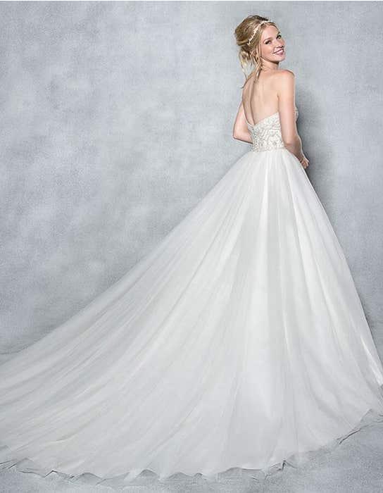 Odette ballgown wedding dress back Viva Bride