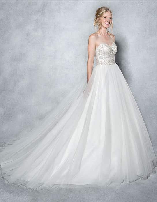 Odette ballgown wedding dress front Viva Bride
