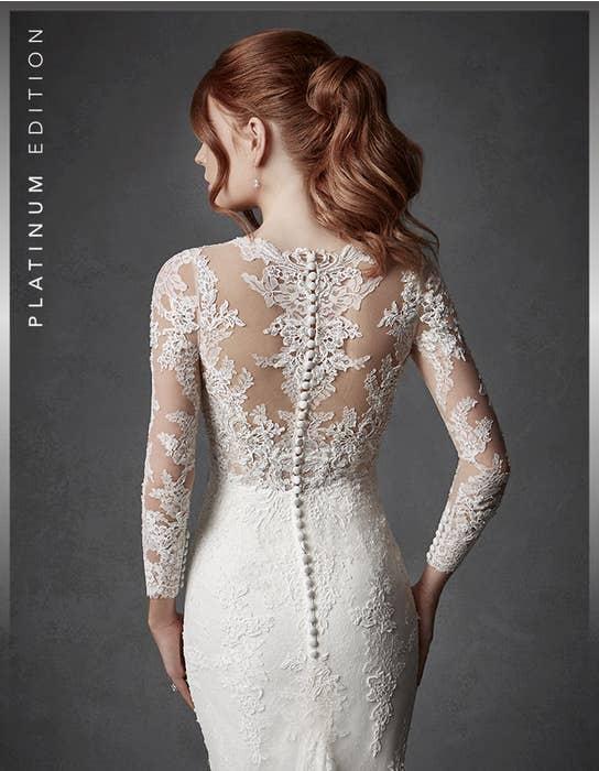 Oriana fishtail wedding dress crop back Signature