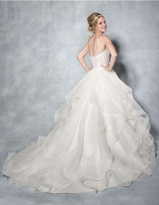 Paige ballgown wedding dress back Viva Bride