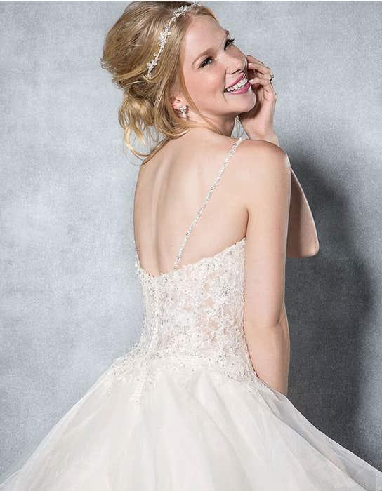 Paige ballgown wedding dress back crop Viva Bride