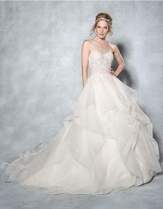 Paige ballgown wedding dress front Viva Bride
