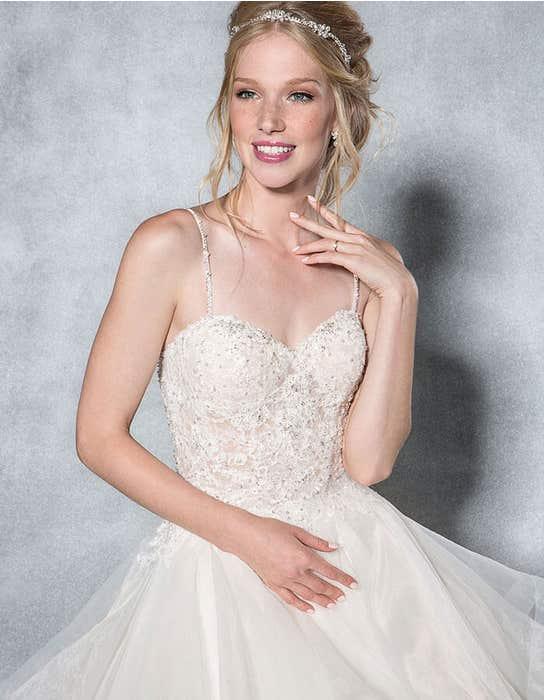 Paige ballgown wedding dress front crop Viva Bride