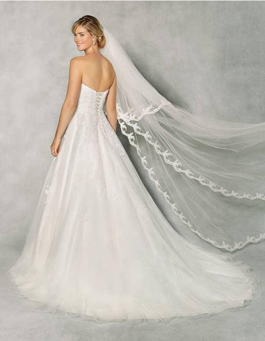 Penny aline wedding dress back Anna Sorrano