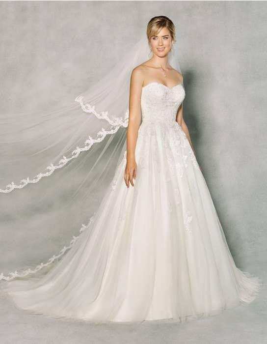 Penny aline wedding dress front Anna Sorrano