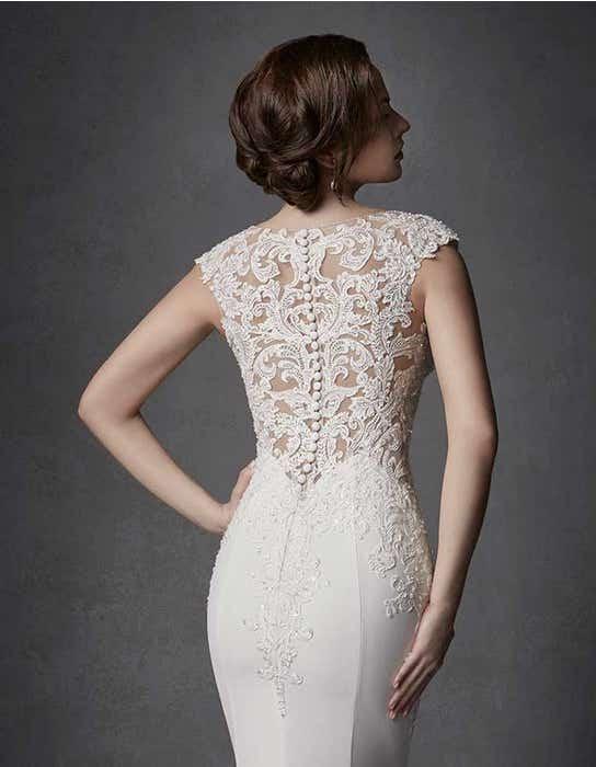 Phoenix sheath wedding dress crop back Signature