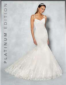 PIPER - a romantic lace mermaid style
