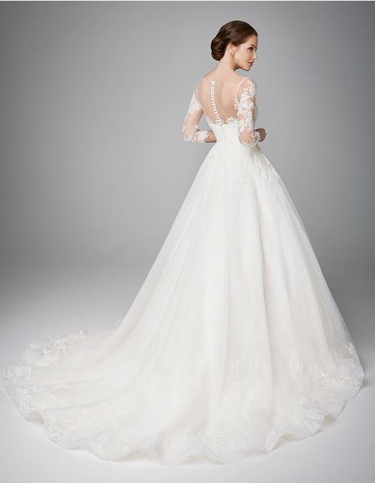 Pippa aline wedding dress back Anna Sorrano