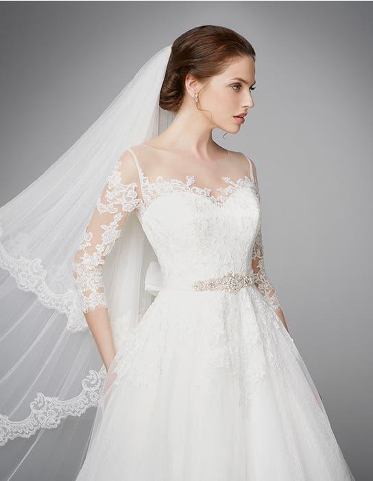 Pippa aline wedding dress crop front2 Anna Sorrano
