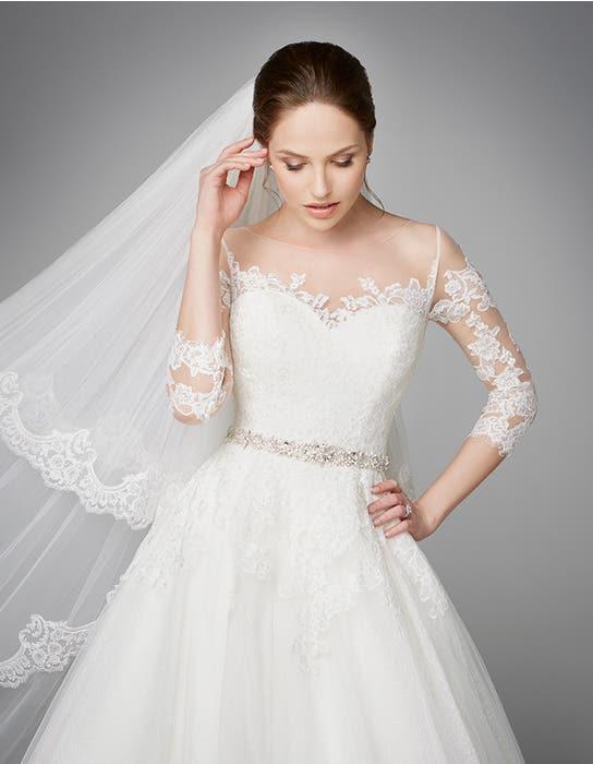 Pippa aline wedding dress crop front3 Anna Sorrano