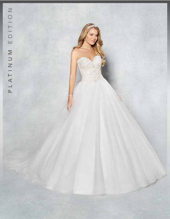 Ramona ballgown wedding dress front Viva Bride