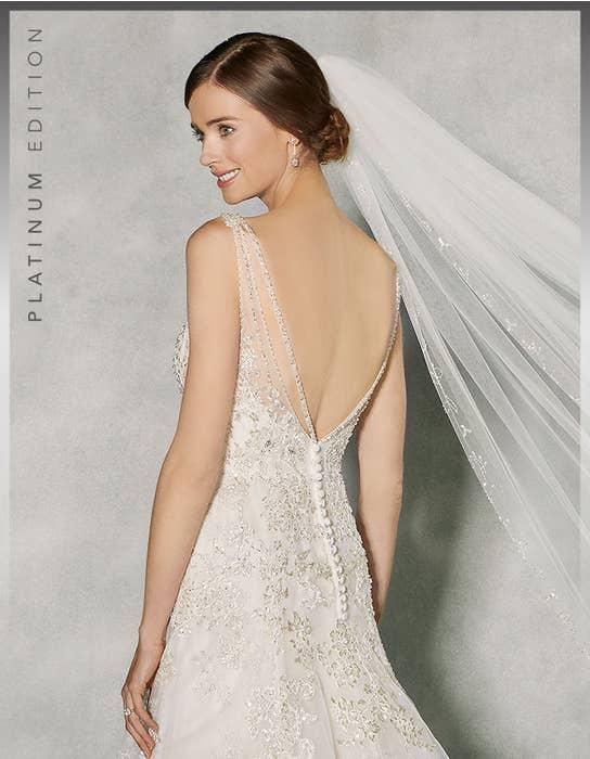 Raphaela fit _ flare wedding dress back crop Anna Sorrano