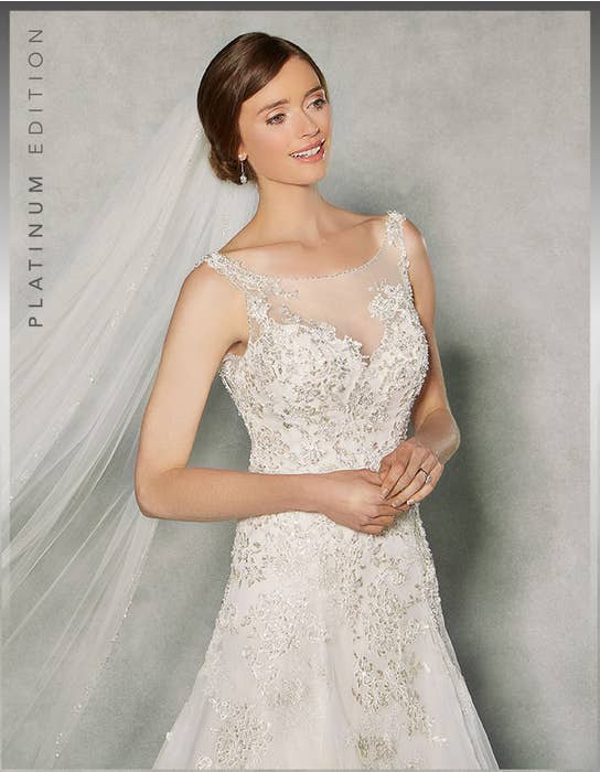 RAPHAELA - a sophisticated fit & flare gown | WED2B