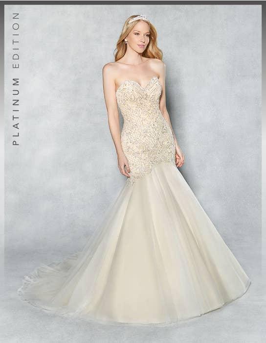 Rhianna fishtail wedding dress front Viva Bride