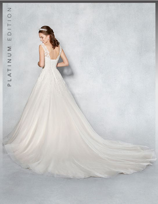 Rhiannon aline wedding dress back Viva Bride