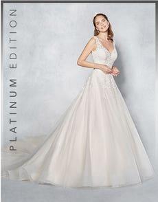 RHIANNON - a glittering ballgown