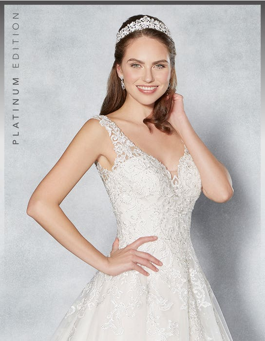 Rhiannon aline wedding dress front crop Viva Bride