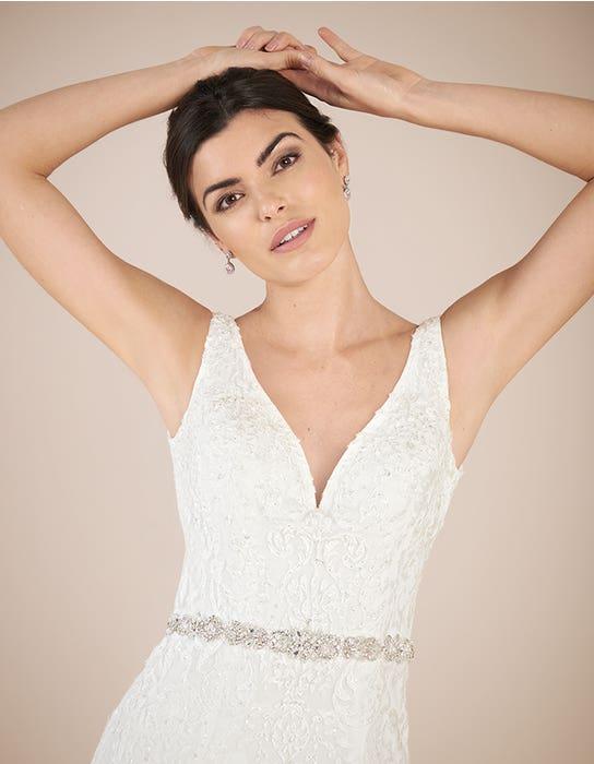 Richmond sheath wedding dress front crop Anna Sorrano