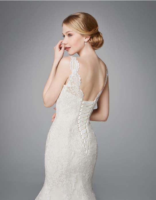 Roberta fishtail wedding dress back crop Anna Sorrano