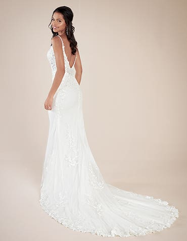 Rocco Sheath wedding dress back Viva Bride th