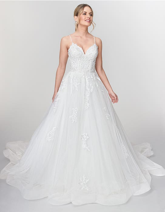 Roma Aline wedding dress front Viva Bride