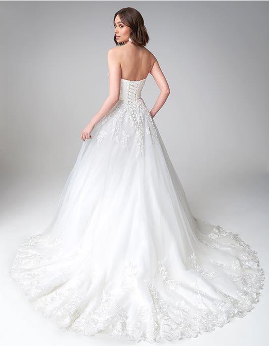 Rosalee Aline wedding dress back Anna Sorrano