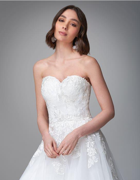 Rosalee Aline wedding dress front crop Anna Sorrano