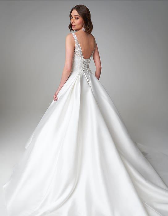 Rosana ballgown wedding dress back Anna Sorrano