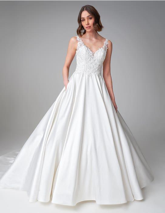 Rosana ballgown wedding dress front Anna Sorrano