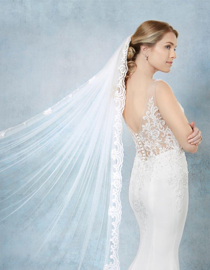 SAFFRON - een glinsterende bruidssluier