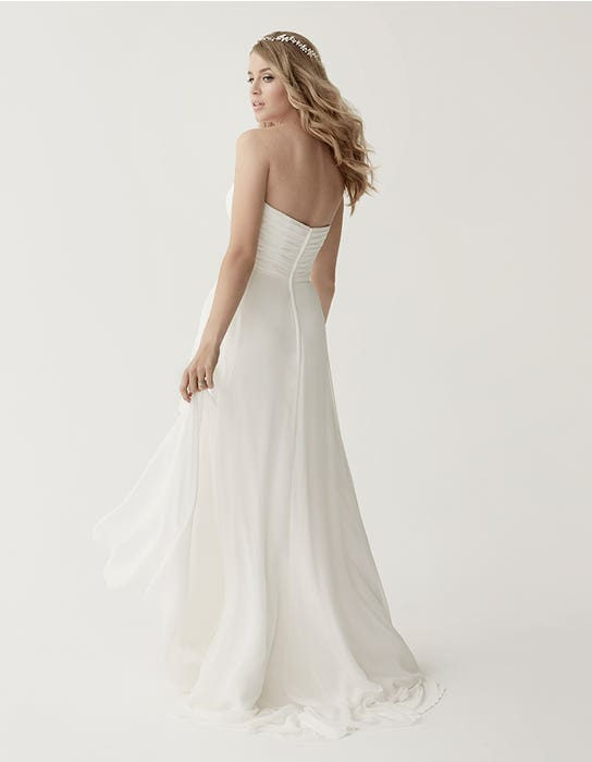 Sara aline wedding dress back Heidi Hudson
