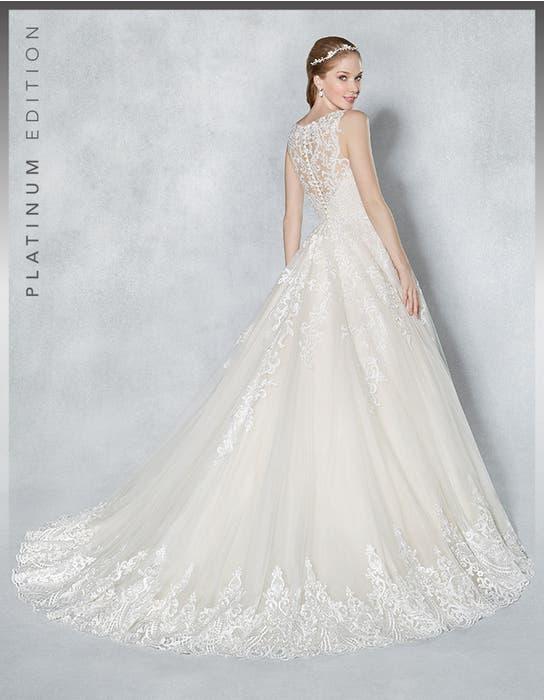 Scarlet aline wedding dress back Viva Bride