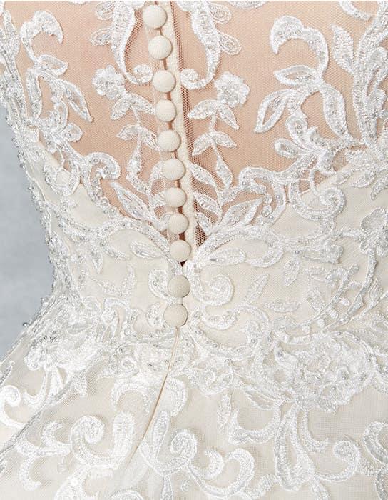 Scarlet aline wedding dress detail Viva Bride