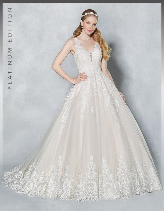 Scarlet aline wedding dress front Viva Bride