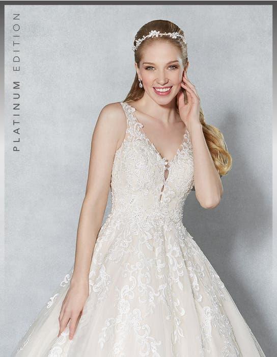 Scarlet aline wedding dress front crop Viva Bride