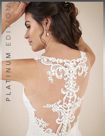 Shannon - a glitzy aline gown