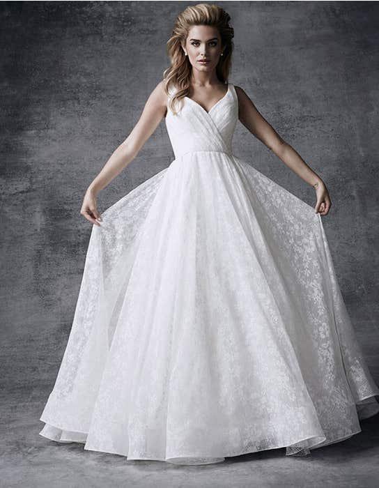 Sia ballgown wedding dress front Signature