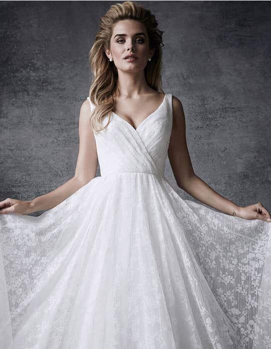 Sia ballgown wedding dress front crop Signature
