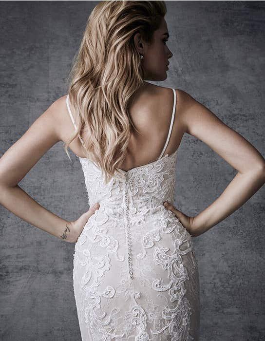 Skyla fishtail wedding dress crop back Signature