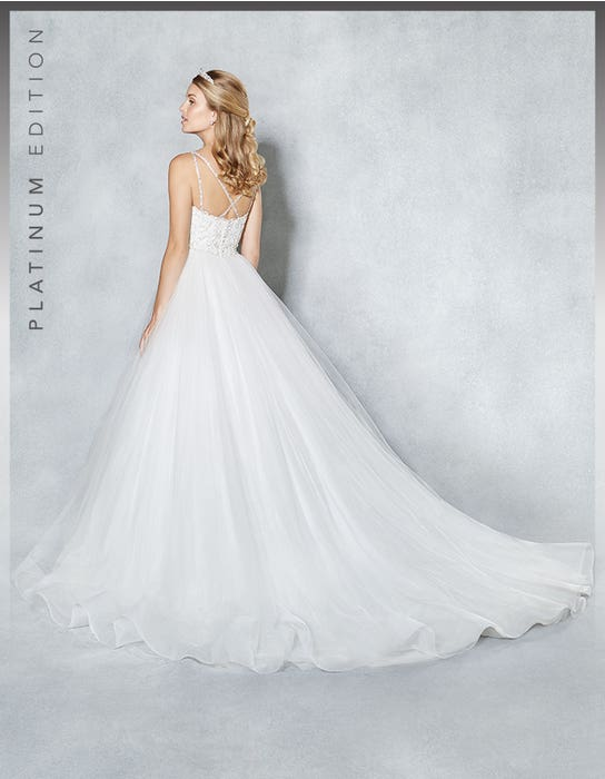 Sophiella ballgown wedding dress back Viva Bride