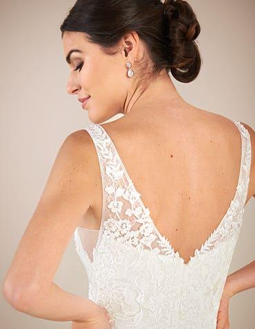 Sorrento sheath wedding dress back crop2 Anna Sorrano th