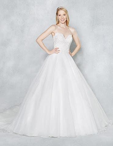 Stacey aline wedding dress front th Viva Bride