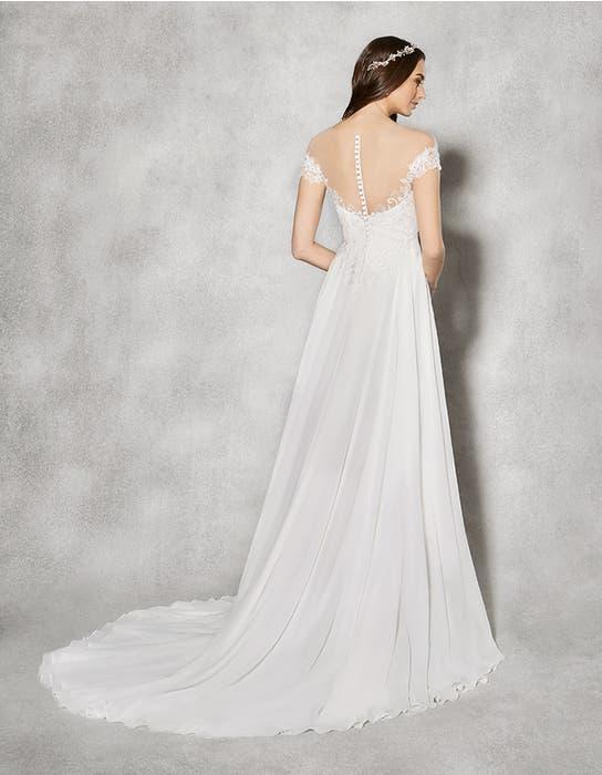Sullivan aline wedding dress back Heidi Hudson