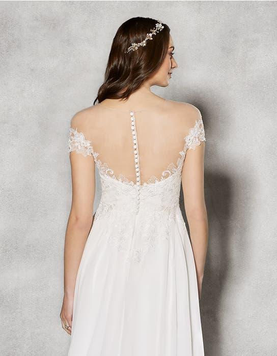 Sullivan aline wedding dress crop back Heidi Hudson